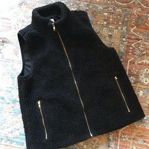 J Crew Factory Sherpa Vest